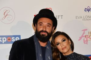 Eva Longoria, scintillante, retrouve Lara Fabian au Global Gift Initiative