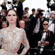 "Coco Rocha - Montée des marches du film ""Once upon a time... in Hollywood"" lors du 72ème Festival International du Film de Cannes. Le 21 mai 2019 © Jacovides-Moreau / Bestimage"