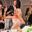 """Exclusif - Victoria Silvstedt - Intérieur - Soirée De Grisogono """"Technicolor"""" à l'hôtel Eden Roc au Cap d'Antibes lors du 72ème Festival International du Film de Cannes, le 21 mai 2019. © Bruno Bebert/Bestimage"""