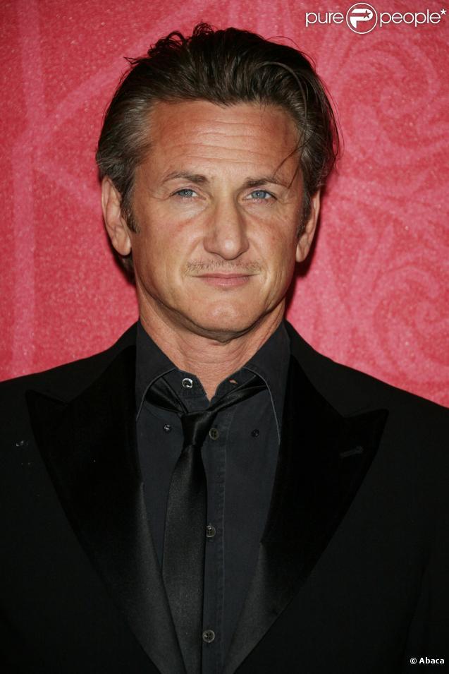 Sean Penn et sa femme Robin Wright