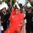 """Winnie Harlow à la projection du film """"Once Upon a Time... in Hollywood"""" lors du 72ème Festival International du Film de Cannes, France, le 21 mai 2019. © Denis Guignebourg/Bestimage"""
