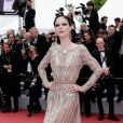 """Coco Rocha à la projection du film """"Once Upon a Time... in Hollywood"""" lors du 72ème Festival International du Film de Cannes, France, le 21 mai 2019. © Jacovides-Moreau / Bestimage"""