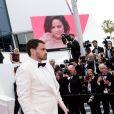 """Jamie Redknapp et Sara Sampaio à la projection du film """"Once Upon a Time... in Hollywood"""" lors du 72ème Festival International du Film de Cannes, France, le 21 mai 2019. © Jacovides-Moreau / Bestimage"""