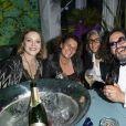 """Exclusif - Agnès Soral et ses amis - Soirée à la suite """"Sandra and Co"""" lors du 72ème Festival International du Film de Cannes le 22 mai 2019. © Pierre Perusseau/Bestimage"""