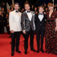 "Richard Madden, Taron Egerton, Kit Connor, Bryce Dallas Howard - Descente des marches du film ""Rocketman"" lors du 72ème Festival International du Film de Cannes. Le 16 mai 2019 © Borde / Bestimage"