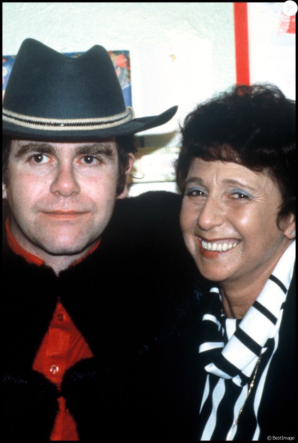 Sheila Farebrother, mère d'Elton John (photo d'archives de 1991)