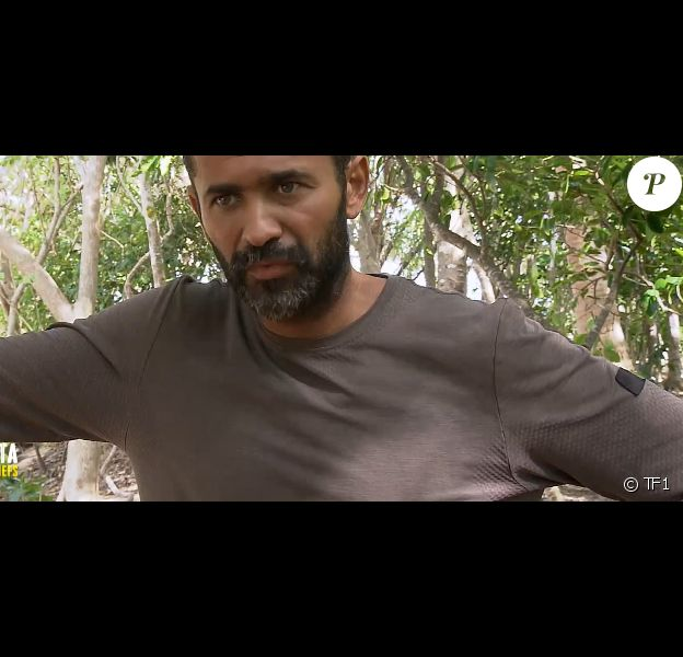 """Mohamed dans """"Koh-Lanta, la guerre des chefs"""" sur TF1 vendredi 24 mai 2019."""