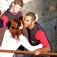 Tony Parker et Eva Longoria à Fort Boyard (émission diffusée le 27 juin)