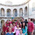 Tony Parker et Eva Longoria et toute l'équipe à Fort Boyard (émission diffusée le 27 juin)