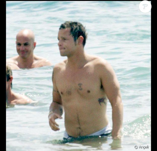 Justin Chambers et sa femme Keisha à Hawaï. 17/06/06
