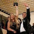 """Laurent Amar et Loana Petrucciani - Montée des marches du film """" Trois Visages """" lors du 71ème Festival International du Film de Cannes. Le 12 mai 2018 © Borde-Jacovides-Moreau/Bestimage"""