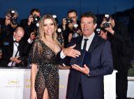 Antonio Banderas : Glorieux avec Nicole, très sexy tout en transparence à Cannes