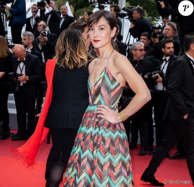 """Anaïs Demoustier - Montée des marches du film """"A Hidden Life"""" lors du 72ème Festival International du Film de Cannes. Le 19 mai 2019 © Borde / Bestimage"""