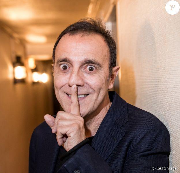 Exclusif - Thierry Beccaro - Backstage de la soirée Innocence Forever au théâtre du gymnase à Paris le 26 novembre 2018. © Cyril Moreau-Pierre Perusseau/Bestimage