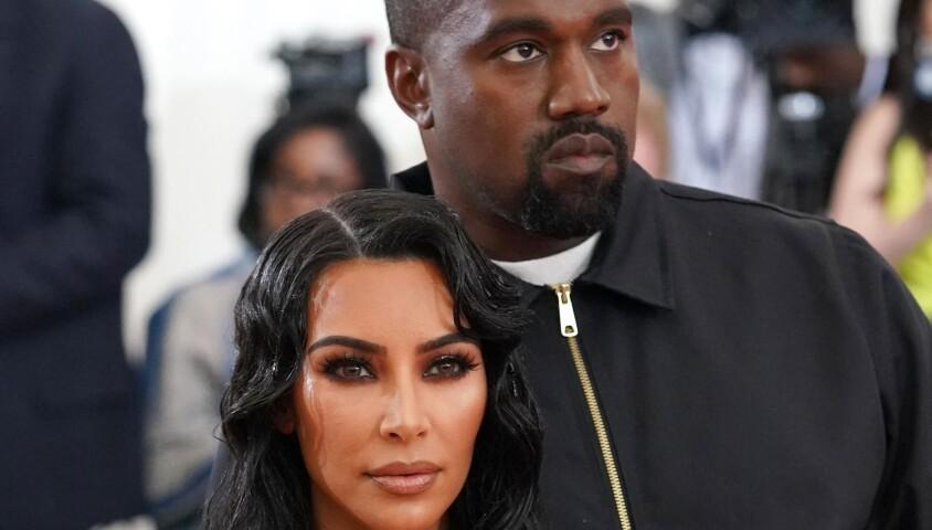 """Kim Kardashian et son mari Kanye West - Arrivées des people à la 71ème édition du MET Gala (Met Ball, Costume Institute Benefit) sur le thème """"Camp: Notes on Fashion"""" au Metropolitan Museum of Art à New York, le 6 mai 2019."""