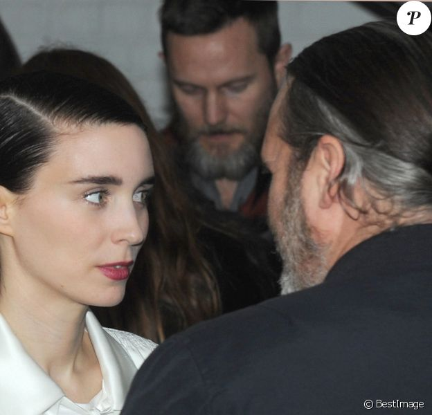 "Rooney Mara et Joaquin Phoenix - Projection du film ""You Were Never Really Here"" au cinéma Metrographà New York City, New York, Etats-Unis, le 3 avril 2018."