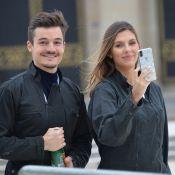 Camille Cerf et son chéri Cyrille : le jeune couple saute de la Tour Eiffel !