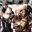 Cardi B a choisi la fourrure pour aller au tribunal dans le cadre de son agression à New York le 31 janvier 2019.
