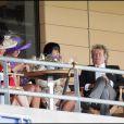Penny Lancaster et son époux Rod Stewart au Royal Ascot. 18/06/09
