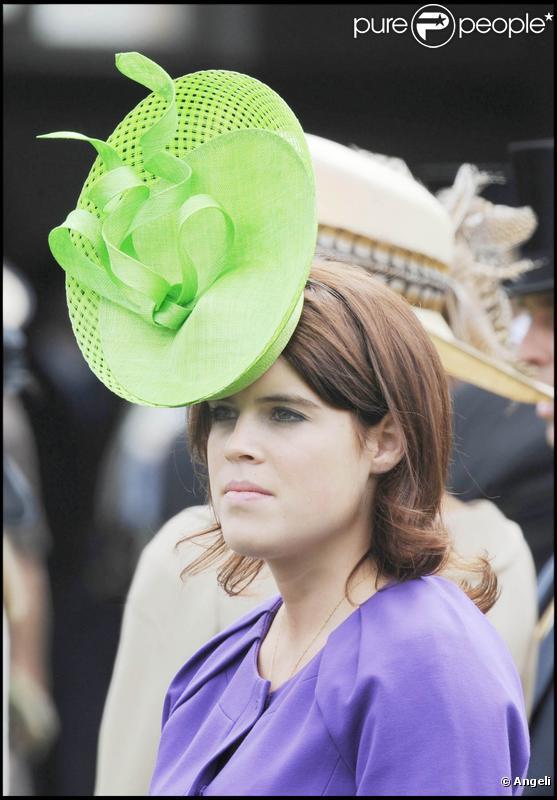 Les Princesses Eugenie et Beatrice d'York au Royal Ascot. 18/06/09