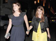 Les princesses Eugenie et Beatrice : elles vont en soirée... main dans la main, comme des petites filles !