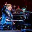 Elton John en concert à Vérone, le 29 mai 2019.
