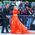 Jennifer Lopez et son fiancé Alex Rodriguez arrivent au Brooklyn Museum pour la soirée des CFDA Fashion Awards. Brooklyn, le 3 juin 2019.
