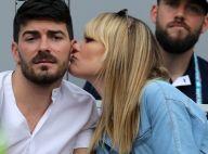 Joy Esther et Andréa Condorelli : Tendres baisers en tribunes à Roland-Garros