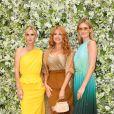 Nicky Hilton Rothschild, Palina Rojinski, Charlott Cordes au défilé Max Mara Resort 2020 au Neues Museum à Berlin, Allemagne, le 3 juin 2019.