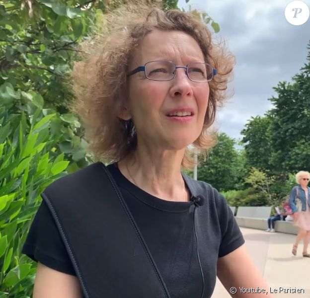 Isabelle Albertin, pianiste de l'Opéra de Paris, gravement blessée à la main par une trottinette électrique à Paris, en mai 2019.