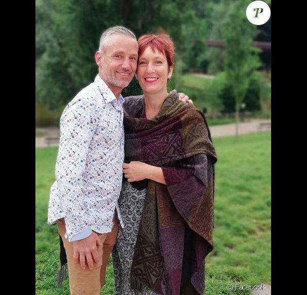 """Carole de """"L'amour est dans le pré"""" est fiancée à Steve. Juin 2019."""