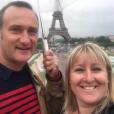 """Pierre-Emmanuel et Julie - Les candidats de la saison 12 de """"L'amour est dans le pré"""", diffusée en 2017, se retrouvent pour le tournage d'un numéro de """"Que sont-ils devenus ?"""", tourné à Paris en juin 2019."""