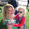 Ingrid Chauvin et son petit Tom, invités exceptionnels de