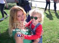 """Ingrid Chauvin et son petit Tom, invités exceptionnels de """"50 mn Inside"""""""