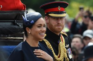 Meghan Markle à Trooping the Colour : une nouvelle bague qui intrigue...