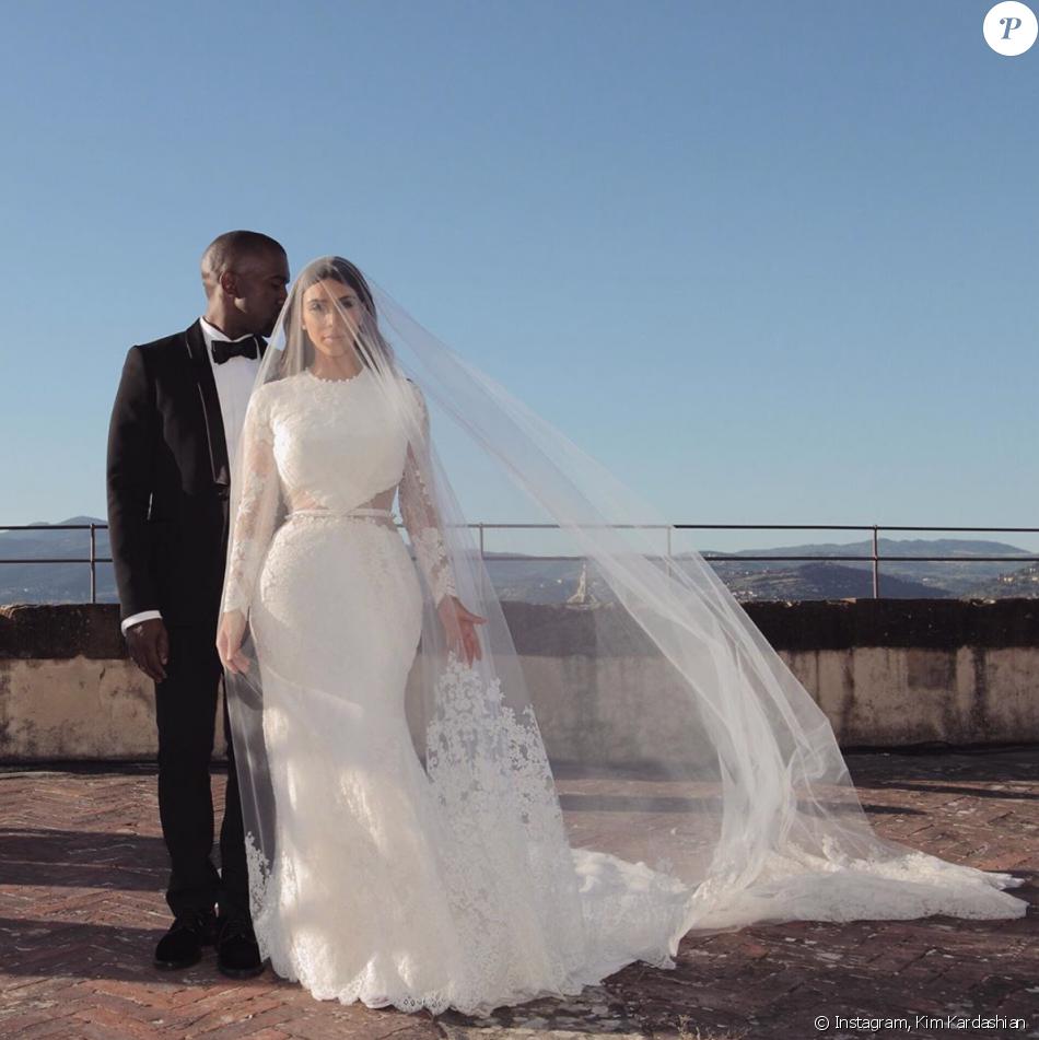 Kim Kardashian et Kanye West se sont mariés le 24 mai 2014 à Florence, en Italie.