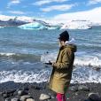 Alexandra Rosenfeld en Islande en juin 2019.