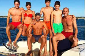 Zinédine Zidane : Ses fils en mode détente, une charmante jeune femme avec eux
