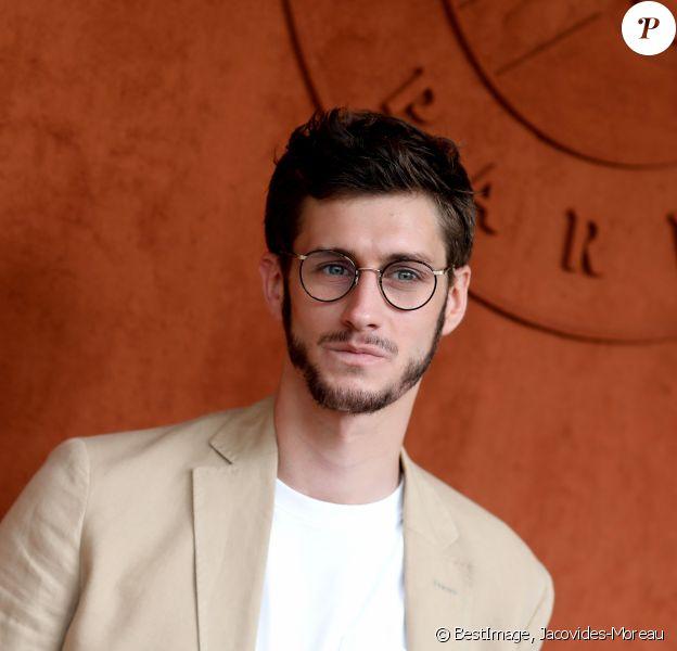 Jean-Baptiste Maunier au village lors des internationaux de tennis de Roland Garros à Paris, France, le 31 mai 2019. © Jacovides-Moreau/Bestimage