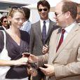 Albert de Monaco et Charlene Wittstock à Bordeaux pour Vinexpo