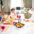 Sylvie Tellier avec ses trois enfants - Instagram, 2 mars 2019