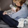 Sylvie Tellier donne le biberont à son fils Roméo - Instagram, 24 février