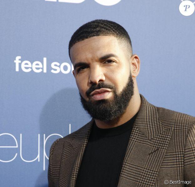 """Drake - Première de la nouvelle série HBO """"Euphoria"""" au Cinemara Dome à Los Angeles, le 4 juin 2019."""
