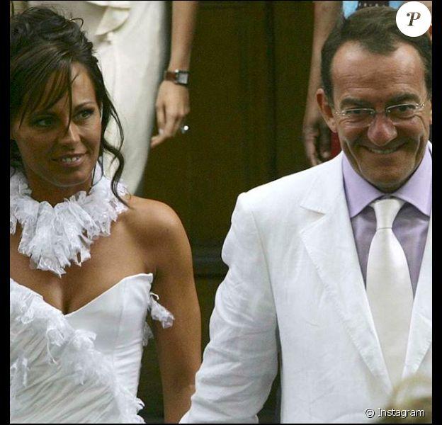 Nathalie Marquay et Jean-Pierre Pernaut le jour de leur mariage en juin 2007, un cliché partagé 12 ans plus tard.