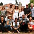 """Retrouvailles des acteurs de """"Caméra Café"""", le 24 juin 2019 près de Paris."""