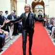 """Chantal Ladesou - Défilé """"Over Fifty... et alors !"""" à la galerie Vivienne à Paris le 17 Juin 2019. C'est sous les ors de la galerie Vivienne que la styliste Nathalie Garçon, initiatrice de l'association """"Over fifty...et alors"""", a organisé un défilé de mode afin de faire évoluer la visibilité et le regard porté sur les femmes de plus de cinquante ans. © Dominique Jacovides/Bestimage"""
