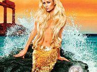 Paris Hilton en superbe sirène topless... va vous enivrer de son sulfureux parfum !