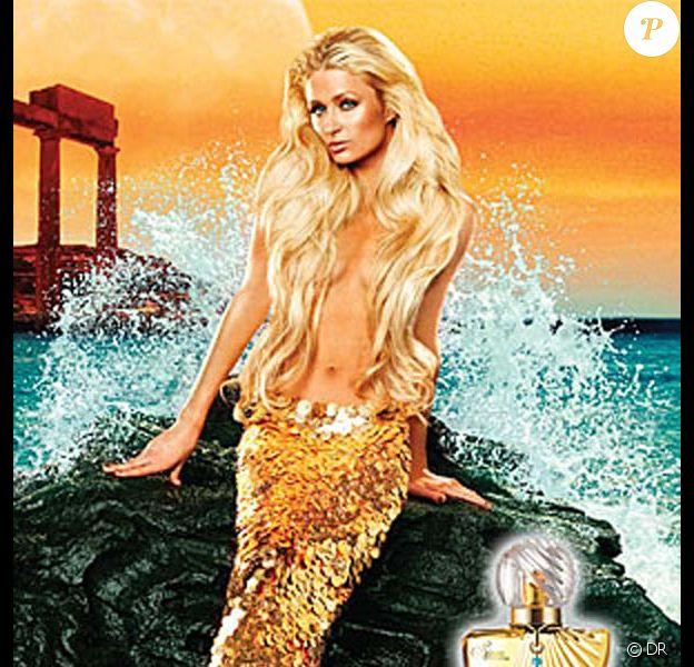 """La craquante Paris Hilton en promo pour son parfum - """"Siren by Paris Hilton"""" !"""