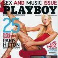 La craquante Paris Hilton en couverture de Playboy !