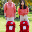"""Fabienne et Jade, candidats de """"Pékin Express 2019"""", photo officielle de M6"""